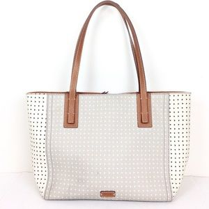 Fossil Large Two Tone Tote